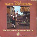 Eduardo de Ribadesella - Gaita Asturian Vol3. - EP de 1969